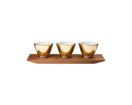 Набор для соусов Polite Gold производства Hering Berlin купить в онлайн магазине beau-vivant.com