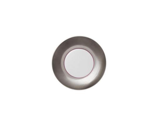Тарелка десертная Polite Platinum 18 см производства Hering Berlin купить в онлайн магазине beau-vivant.com