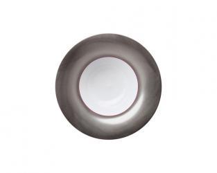 Тарелка глубокая Polite Platinum 25 см