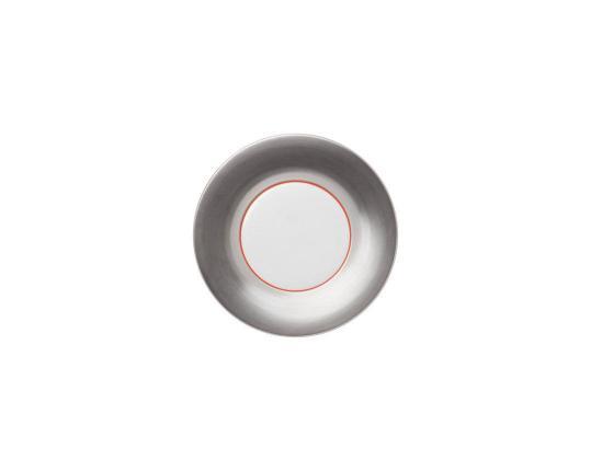 Тарелка десертная Polite Silver 18 см производства Hering Berlin купить в онлайн магазине beau-vivant.com