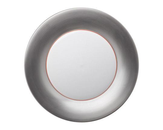 Подстановочная тарелка Polite Silver 37 см производства Hering Berlin купить в онлайн магазине beau-vivant.com