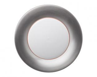 Подстановочная тарелка Polite Silver 37 см