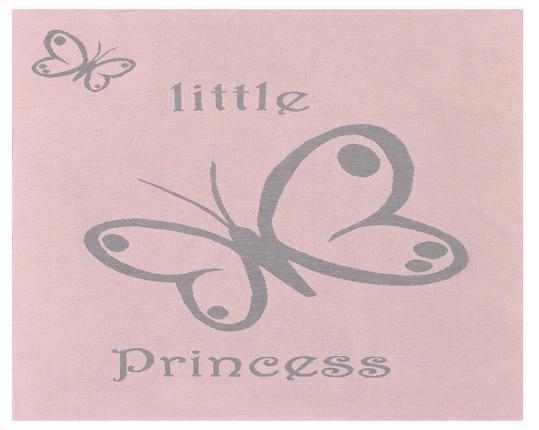 Шерстяной розовый детский плед Princess  производства Eagle Products купить в онлайн магазине beau-vivant.com