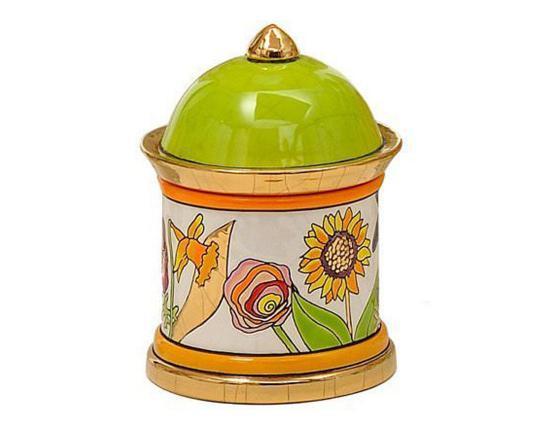 Шкатулка Bucolique 11 см производства Emaux de Longwy купить в онлайн магазине beau-vivant.com