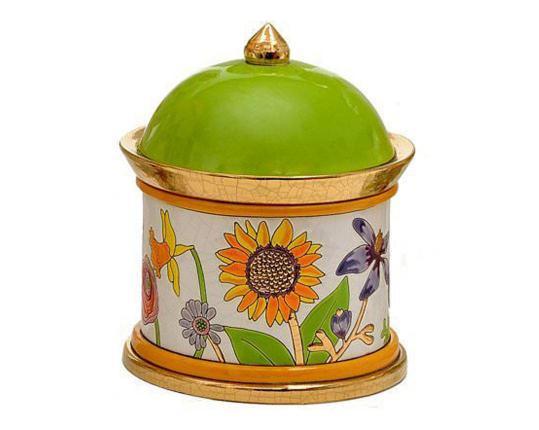Шкатулка Bucolique 19 см производства Emaux de Longwy купить в онлайн магазине beau-vivant.com