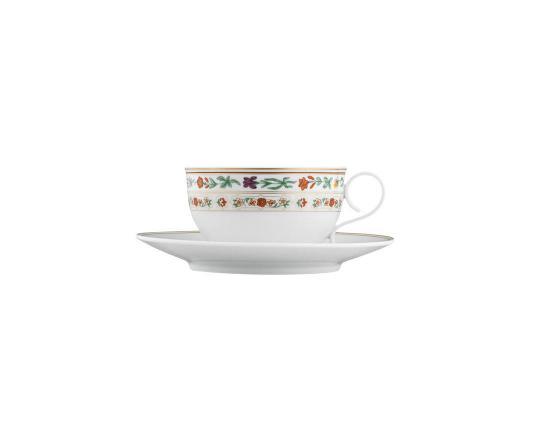 Чашка с блюдцем для чая Rajasthan 220 мл производства Fürstenberg купить в онлайн магазине beau-vivant.com