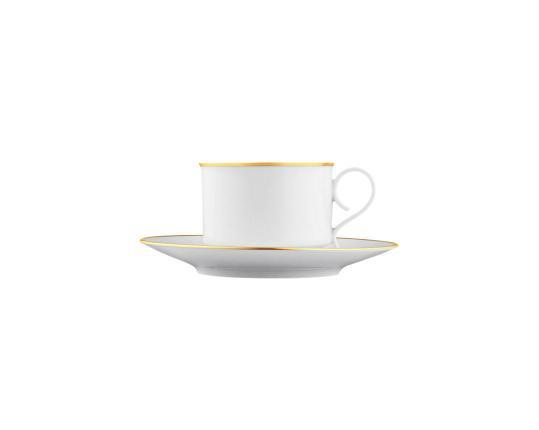 Чашка с блюдцем для кофе Carlo Oro 200 мл производства Fürstenberg купить в онлайн магазине beau-vivant.com