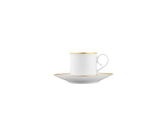 Чашка с блюдцем для эспрессо Carlo Oro 100 мл производства Fürstenberg купить в онлайн магазине beau-vivant.com