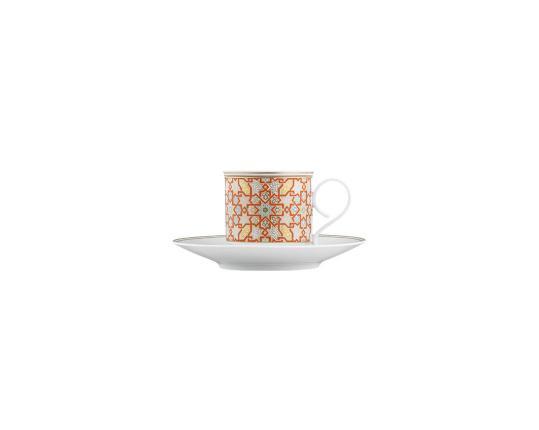 Чашка с блюдцем для эспрессо Rajasthan 100 мл производства Fürstenberg купить в онлайн магазине beau-vivant.com