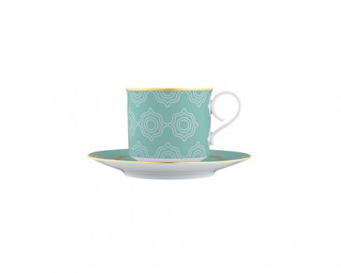 Чашка с блюдцем для чая и капучино Carlo Este 300 мл