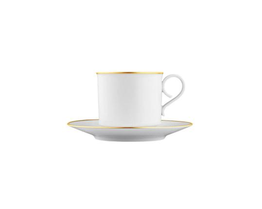 Чашка с блюдцем для капучино Carlo Oro 300 мл производства Fürstenberg купить в онлайн магазине beau-vivant.com