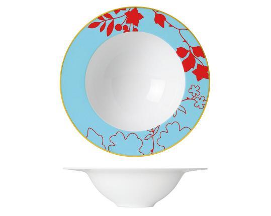 Тарелка глубокая для пасты Emperor's Garden 23 см   производства Sieger by Fürstenberg купить в онлайн магазине beau-vivant.com