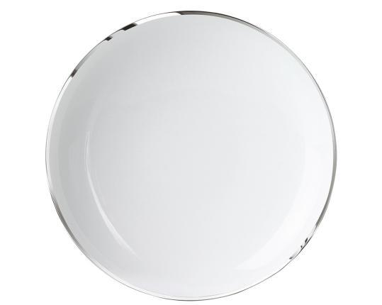 Тарелка для пасты Treasure Platinum 26 см производства Sieger by Fürstenberg купить в онлайн магазине beau-vivant.com