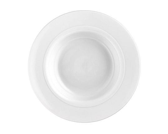 Тарелка для супа Auréole Weiss 23 см производства Fürstenberg купить в онлайн магазине beau-vivant.com