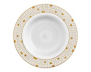 Тарелка глубокая для пасты Auréole Dorée 26 см