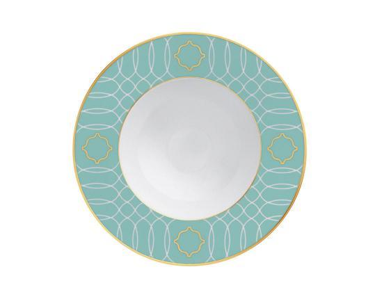 Тарелка глубокая для супа Carlo Este 23 см производства Fürstenberg купить в онлайн магазине beau-vivant.com