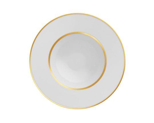 Тарелка глубокая для супа Carlo Oro 23 см производства Fürstenberg купить в онлайн магазине beau-vivant.com