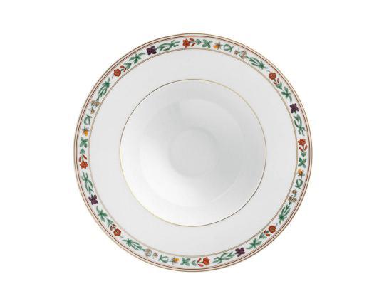 Тарелка глубокая для супа Rajasthan 23 см производства Fürstenberg купить в онлайн магазине beau-vivant.com