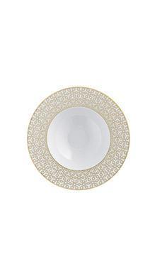 Тарелка глубокая для супа Rajasthan с рельефным орнаментом 23 см