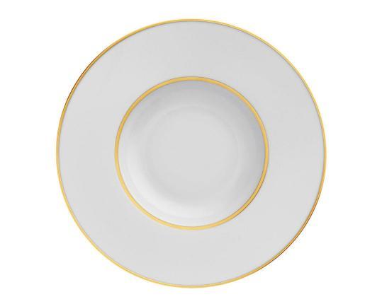 Тарелка глубокая для пасты Carlo Oro 26 см производства Fürstenberg купить в онлайн магазине beau-vivant.com