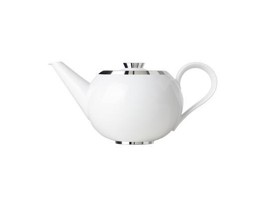Чайник с ситечком Treasure Platinum 600 мл производства Sieger by Fürstenberg купить в онлайн магазине beau-vivant.com