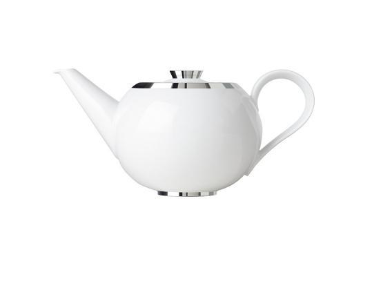 Чайник с ситечком Treasure Platinum 1200 мл производства Sieger by Fürstenberg купить в онлайн магазине beau-vivant.com