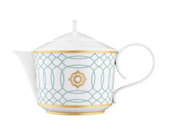 Чайник с ситечком Carlo Este 800 мл  производства Fürstenberg купить в онлайн магазине beau-vivant.com