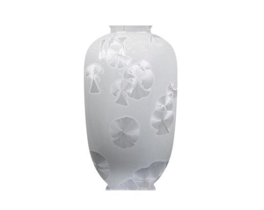 """Фарфоровая ваза """"Белый Бриллиант"""" 49 см производства Fürstenberg купить в онлайн магазине beau-vivant.com"""