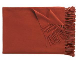 Кашемировый плед Windsor (красно-оранжевый)