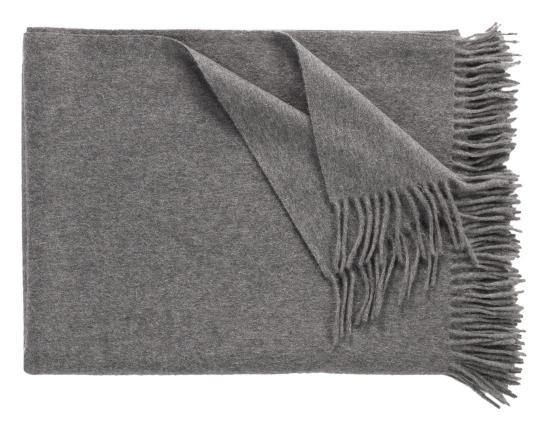 Кашемировый плед Windsor (серый) производства Eagle Products купить в онлайн магазине beau-vivant.com