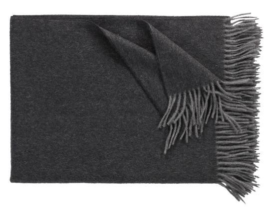 Кашемировый плед Windsor (антрацит) производства Eagle Products купить в онлайн магазине beau-vivant.com
