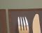 Кожаная салфетка под прибор Chocolat  - купить в онлайн магазине beau-vivant.com