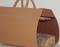 Кожаная дровница Camel  - купить в онлайн магазине beau-vivant.com