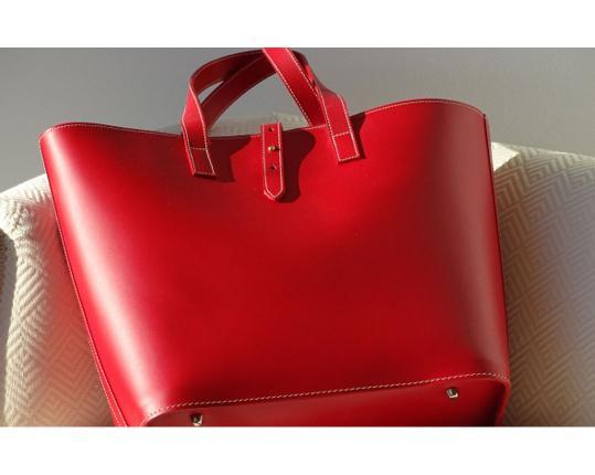 Сумка Cabas Grand Rouge производства MIDIPY купить в онлайн магазине beau-vivant.com