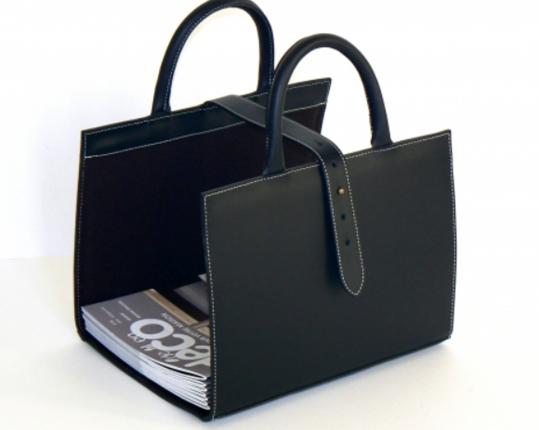 Корзина для журналов Noir  производства MIDIPY купить в онлайн магазине beau-vivant.com