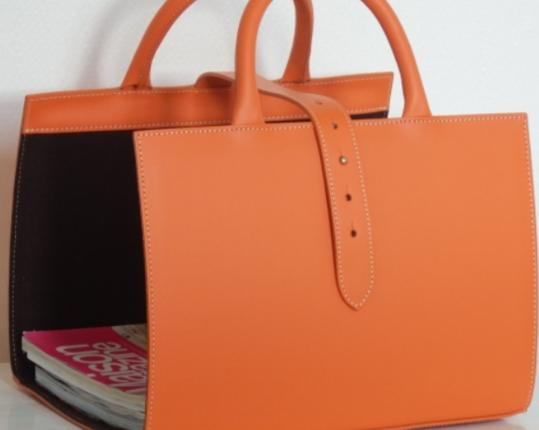 Корзина для журналов Orange  производства MIDIPY купить в онлайн магазине beau-vivant.com