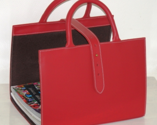 Корзина для журналов Rouge  производства MIDIPY купить в онлайн магазине beau-vivant.com