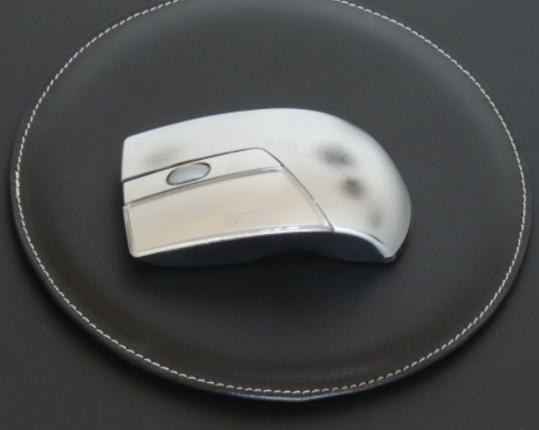 Коврик для мыши Noir  производства MIDIPY купить в онлайн магазине beau-vivant.com