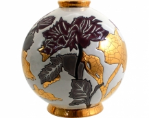Шарообразная ваза A l'ombre des fleurs 18 см