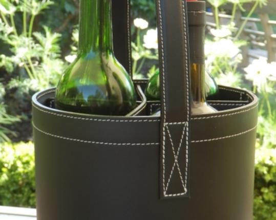 Подставка для бутылок Мidi-Bar Quatro Noir производства MIDIPY купить в онлайн магазине beau-vivant.com
