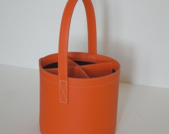 Подставка для бутылок Мidi-Bar Quatro Orange  производства MIDIPY купить в онлайн магазине beau-vivant.com