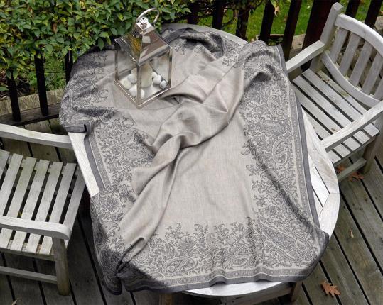 Скатерть Paisley Black 170 см х 250 см производства Ju-Lein купить в онлайн магазине beau-vivant.com