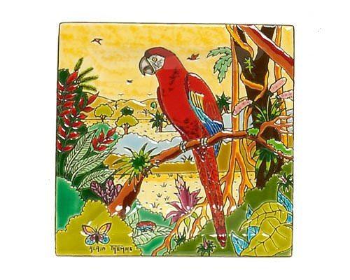 Пепельница Oiseaux d'Amérique 3 см производства Emaux de Longwy купить в онлайн магазине beau-vivant.com