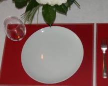 Кожаная салфетка под прибор Rouge