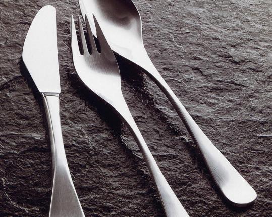 Набор на 6 персон из 30 предметов Scandia (сталь) производства Robbe & Berking купить в онлайн магазине beau-vivant.com
