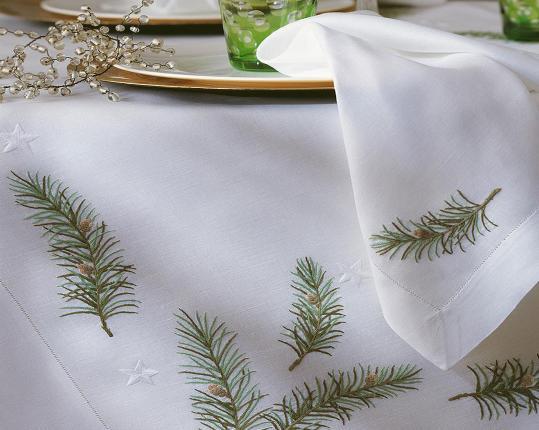 Скатерть Hohlsaum 110 x 110 см производства ERI Textiles купить в онлайн магазине beau-vivant.com
